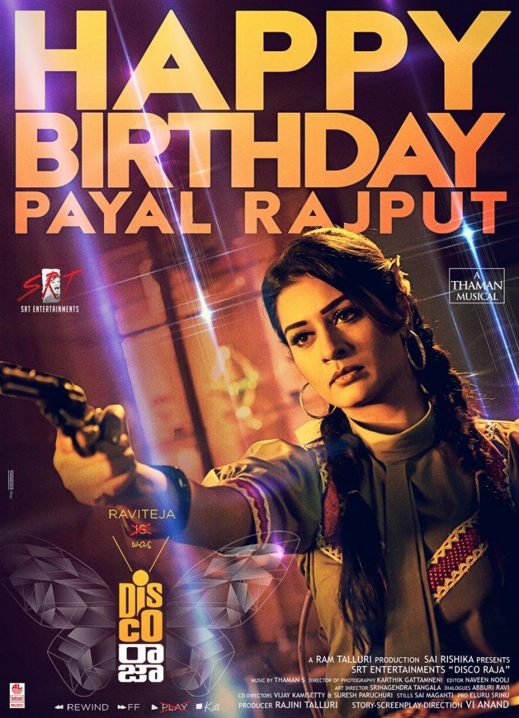 payal rajput in disco raja
