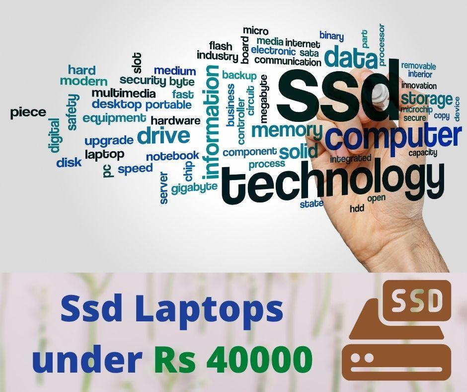 Ssd laptop under 40000